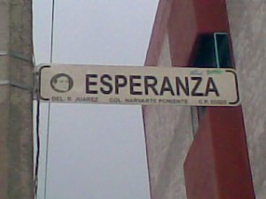 Esperanza, la città della speranza?
