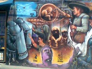 Muralismo acrilico \