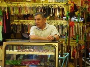 Venditore di gelatine a Tepito