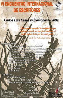 VI encuentro internacional escritores 2009