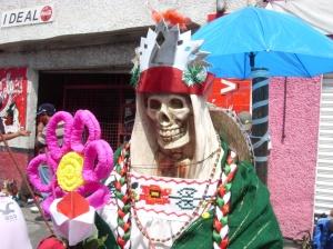 Santa Muerte patriota