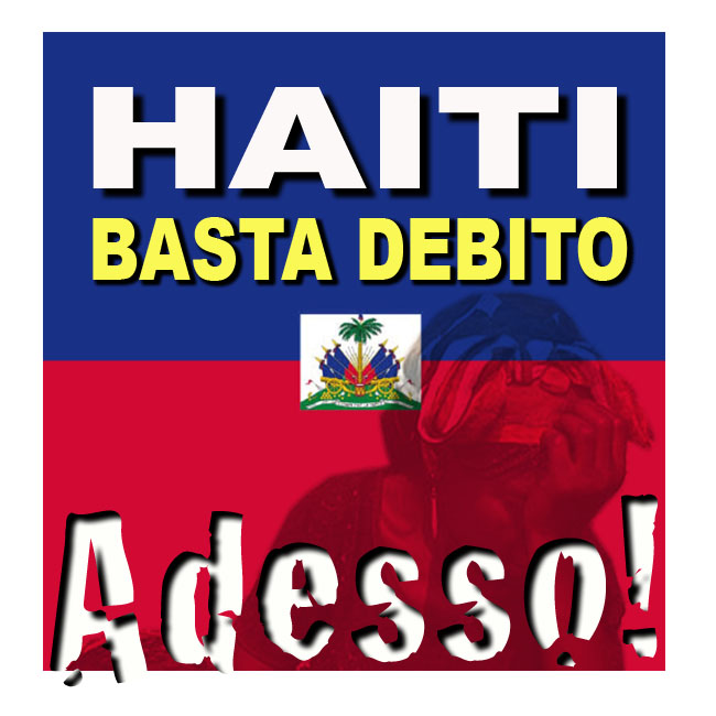 Risultati immagini per haiti francia debito