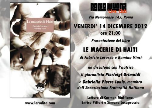 Macerie di Haiti presentazione2