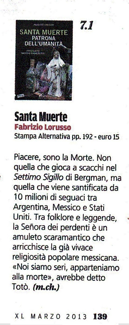 XL Repubblica Santa Muerte Recorte