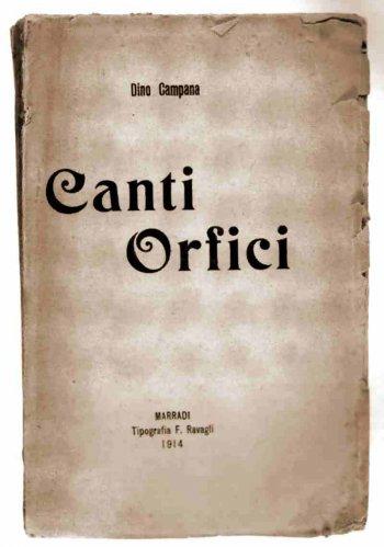 Dino Campana – Revista Poesía Más Poesía