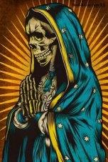 Santa Muerte Carton