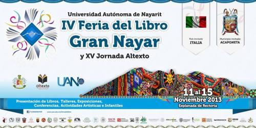 Feria libro Nayar