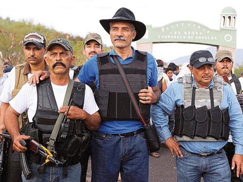 mireles y autodefensas