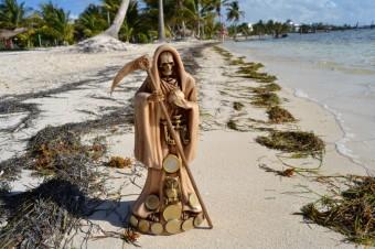 Santa Muerte Playa Mahahual Mexico 004