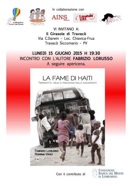La fame di Haiti EVENTO Pavia 15 giugno 2015