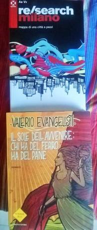 Letture Valerio Evangelisti Sole Re search Milano agenzia x
