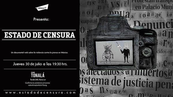 estado de censura