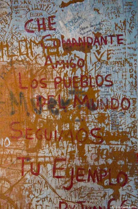 Mensajes al Che en La Lavanderia ©