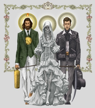 Trinita narcosanti santa muerte malverde san judas