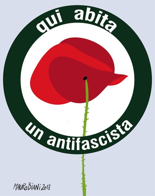 antifascista abita qui Biani