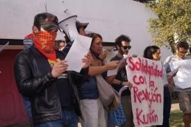 PROTESTA EN APOYO AL PUEBLO KURDO