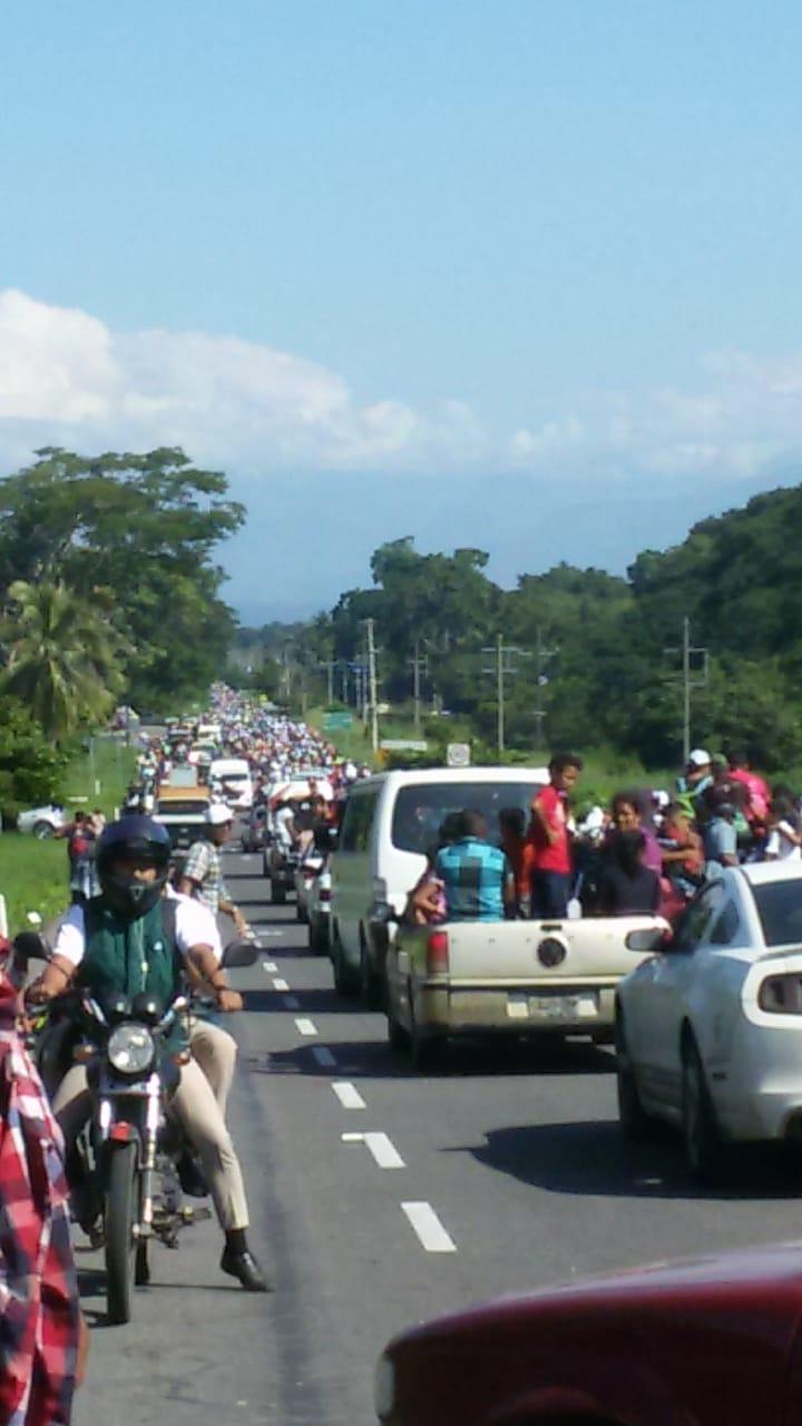 Caravana migrantes Honduras Chiapas (1)