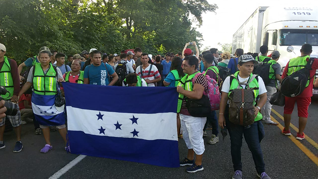 Caravana migrantes Honduras Chiapas (3)
