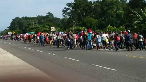 Caravana migrantes Honduras Chiapas (4)