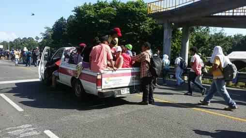 Caravana migrantes Honduras Chiapas (5)