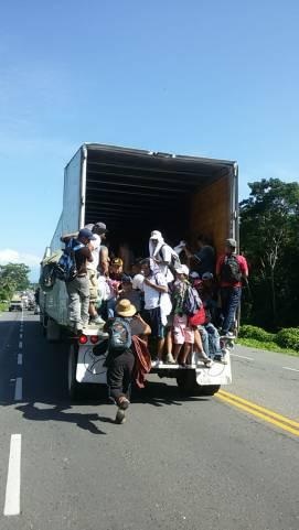 Caravana migrantes Honduras Chiapas (6)